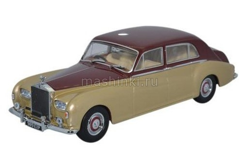 43RRP5002 14+ OXFORD OXFORD 1/43 ROLLS-ROYCE Phantom V James Young 1962 burgundy/silversand