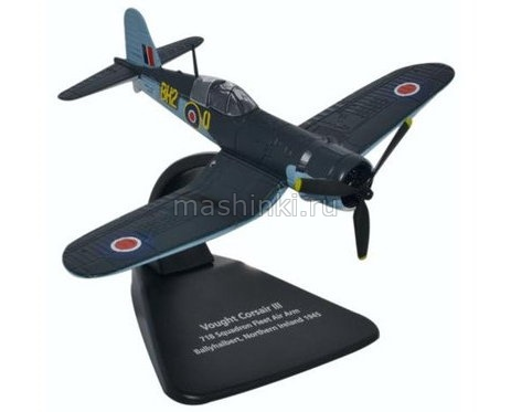 AC070 14+ OXFORD OXFORD 1/72 CHANCE VOUGHT F4U-1 Corsair Mk. III 718 Squadron FAA Ballyhalbert Northern Ireland самолет 1945