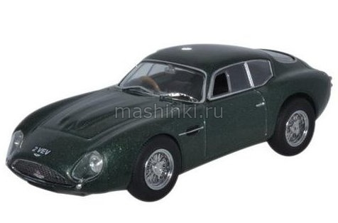 AMZ001 14+ OXFORD OXFORD 1/43 ASTON MARTIN DB4GT Zagato 1961 metallic green