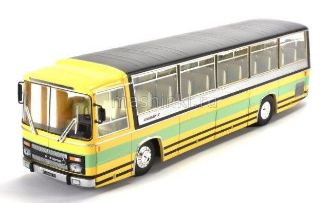 BC015 14+ ALTAYA ALTAYA 1/43 BERLIET CRUISAIR 3 France автобус 1969 yellow/black