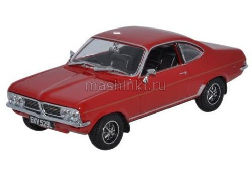 VF002 14+ OXFORD OXFORD 1/43 VAUXHALL Firenza 1800SL 1972 flamenco red